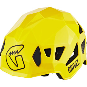 Grivel Stealth Helm geel